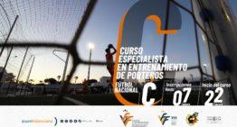 Se amplía al 7 de febrero el plazo para los Cursos FFCV de especialista en entrenamiento de porteros