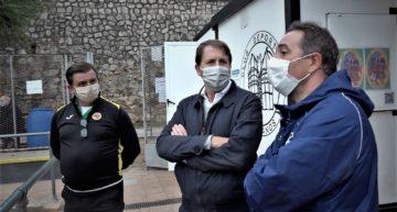 Gomar confirma que algunos partidos aplazados podrán jugarse durante el 'parón' sanitario