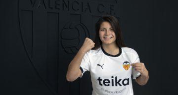 El Valencia oficializa la incorporación de Anita Marcos