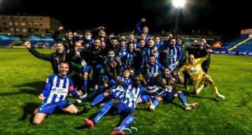 El Alcoyano hace historia y apea al Real Madrid de la Copa del Rey (2-1)