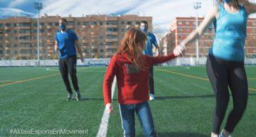 El deporte de Aldaia da la bienvenida al 2021 al ritmo de 'Jerusalema'