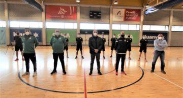 Así han sido las pruebas físicas a árbitros de Primera y Segunda de futsal en Alfafar