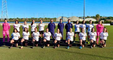 Fonsi Céspedes (VCF Femenino 'D'): 'Estamos en el Valencia y tenemos que buscar siempre los puestos de arriba'