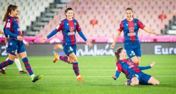 Remontada y gol de bandera de Eva Navarro para meter al Levante Femenino en la final de la Supercopa (3-1)