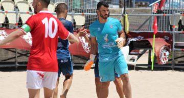 La Selección Española de futplaya convoca al meta valenciano José Carlos Caballero