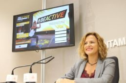 Pilar Bernabé y los beneficios de #ValènciaEntrenaEnCasa: 'Volveremos con fuerza y en buena forma física'