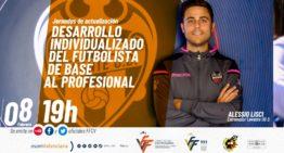 Alessio Lisci será el próximo ponente en las Jornadas de Actualización del Comité Técnico de Entrenadores FFCV