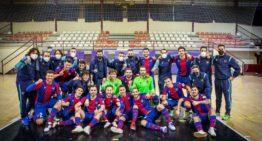 El Levante FS no tuvo piedad del Viña Albali y ya está en semifinales de Copa del Rey (8-1)