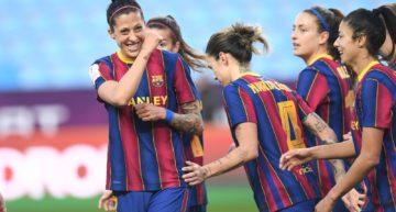 El Barcelona tumba al Logroño y se proclama campeón de la Copa de la Reina 19-20