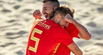 La Selección Absoluta de fútbol playa convoca a seis jugadores de la Comunitat