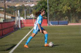 Claudia Jiménez (Málaga CF): 'Quiero llegar a lo más alto, a Primera Iberdrola'