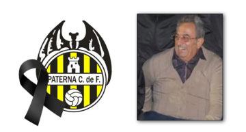 Condolencias al Paterna CF tras la muerte de su exvicepresidente Carlos Ramírez