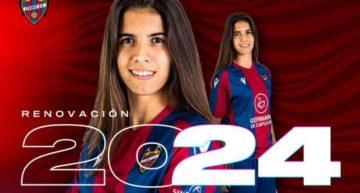 El Levante 'ata' a su joven goleadora Alba Redondo hasta 2024