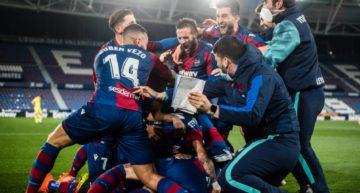 El Levante pasa a semifinales de Copa con un gol de Roger en el minuto 120 (1-0)