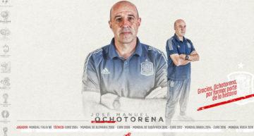 Ochotorena deja la Selección Española tras casi 20 años repletos de éxitos