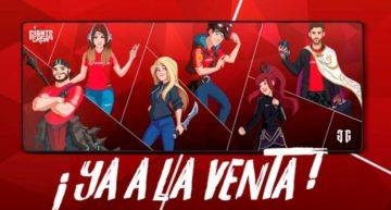 Vodafone Giants y su Crew lanzan su línea propia de merchandising