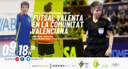 Alicia Morell y Raquel G. Ruano, protagonistas del fútbol sala en la Setmana Valenta
