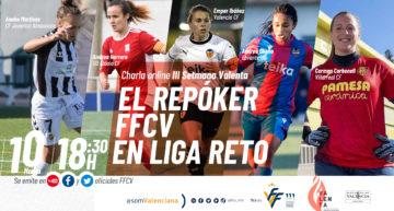Los cinco equipos FFCV de la Liga Reto, protagonistas en la III Setmana Valenta