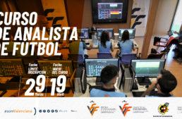 La FFCV lanza un nuevo curso de analista de fútbol