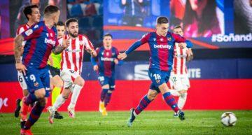 El Athletic vence en la prórroga y acaba con el sueño del Levante (1-2)