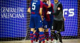 El Levante llega a la Copa de España como rival a batir en la Primera RFEF futsal