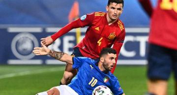 La selección española sub-21 empata ante Italia y se lo jugará todo en la última jornada (0-0)