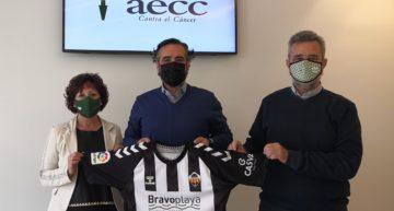 El CD Castellón se suma a la lucha contra el cáncer
