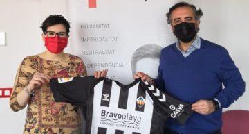 El CD Castellón colaborará con la Cruz Roja