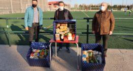 La FFCV colabora con Gesdepro y el Ayuntamiento con una entrega al Banco de Alimentos de Castelló
