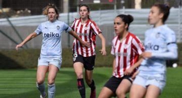 Un inofensivo VCF Femenino dobla la rodilla en su visita al Athletic Club (2-0)