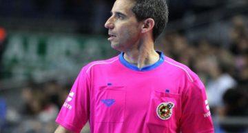 Carlos Rabadán será uno de los árbitros de la Copa de España de fútsal