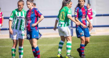 Un gol de Mari Paz da premio al Betis ante un impreciso Levante Femenino (1-1)