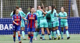 Un nuevo triunfo en Eibar permite al Levante Femenino aferrarse a la segunda plaza (0-2)