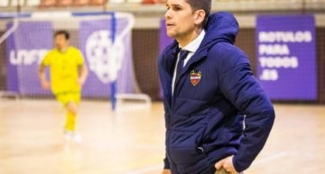 El Levante Futsal renueva a su míster Diego Ríos hasta 2023