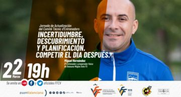 Ponencia FFCV de Miguel Hernández, preparador físico de Osasuna Magna FS, el lunes 22 de marzo