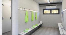 El uso de vestuarios y duchas en instalaciones deportivas se permite al 50% a partir del lunes 26 de abril