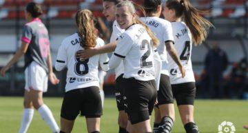 Un Valencia Femenino brillante vence al Madrid CFF (2-0)