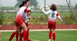 Dos triunfos y una derrota para el fútbol femenino del Ciutat de Xàtiva