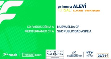 Oficiales los grupos y calendarios de Primera Aleví de futsal para la segunda fase de la competición
