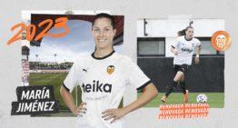 María Jiménez renueva con el VCF Femenino hasta 2023