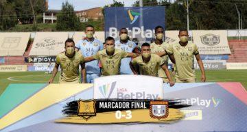 Colombia: pierden por 0-3 federativo tras aguantar 78 minutos con siete futbolistas contra once