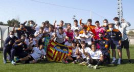 Un Valencia CF superlativo liquida el campeonato de Liga Nacional Juvenil a falta de cuatro jornadas