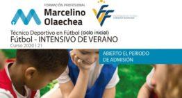 FFCV colabora en la oferta de cursos de Técnico Deportivo (ciclo inicial) con Fundación Marcelino Olaechea