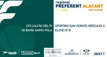 Grupos confirmados de las Ligas de futsal 20-21 en Alicante