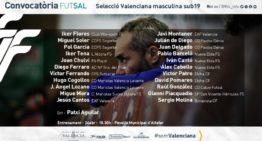 La Selecció Valenciana masculina sub19 de futsal regresa al trabajo tras meses de 'parón'