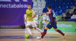 El Levante pierde ante Palma Futsal y ve amenazado su liderato