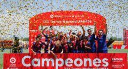 El Barça conquista ante el Sevilla su undécimo título en la XXX edición nacional de LaLiga Promises (3-0)