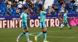 El Levante cae ante un Barça que sella el triplete