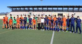 Intensa sesión de entrenamiento de la Selecció masculina FFCV Sub-14 en Segorbe