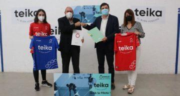 Fundació per la Pilota Valenciana y Teika impulsarán el profesionalismo en la pilota femenina